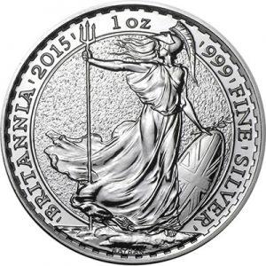 1oz Great Britain Britannia Silver Bullion Coin