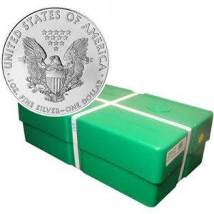 1oz US Eagle Silver Bullion Coin Monster Box